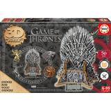 3D-Jigsaw Puzzles Educa Game of Thrones 3D Monument Puzzle 56 Pieces