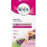 Wax Strips Veet Easy Gel Wax Strips Normal Skin 20-pack