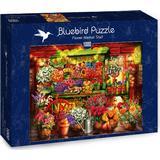 Jigsaw Puzzles Bluebird Flower Market Stall 1000 Pieces