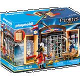 Playmobil pirate Play Set Playmobil Pirate Adventure Play Box 70506