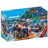 Playmobil pirate Toys Playmobil Pirate Island Hideout 70556