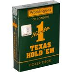 Waddingtons Number 1 Texas Hold 'em Playing Cards