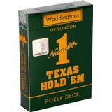 Board Games Waddingtons Number 1 Texas Hold 'em Playing Cards