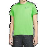 Nike Pro Dri-FIT Short-Sleeve T-shirt Men - Stadium Green/Mean Green/Heather/Black