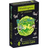 Board Games Waddingtons Number 1 Playing Cards - Rick and Morty Edition