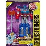 Action Figures Hasbro Transformers Toys Cyberverse Ultimate Class Optimus Prime Action Figure