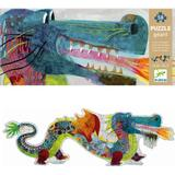 Floor Jigsaw Puzzles Djeco Dragon Leon 36 Pieces