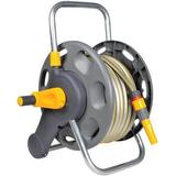 Hozelock Assembled 2-in-1 60m Hose Reel with 50m Hose
