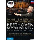 DVD-movies Beethoven: Symphonies 1- 9 (Barenboim) [DVD]