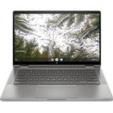 Gold chromebook Laptops HP Chromebook x360 14c-ca0500na