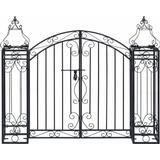vidaXL Ornamental Garden Gate 122x100cm