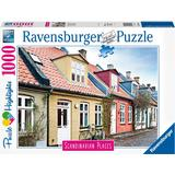 Ravensburger Scandinavian Places Houses in Aarhus Denmark 1000 Pieces