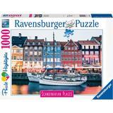 Ravensburger Scandinavian Places Copenhagen Denmark 1000 Pieces