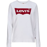 Women's Clothing Levi's Relaxed Graphic Sweatshirt - Housemarked Red/Red