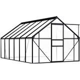 Freestanding Greenhouses vidaXL Greenhouse 7.03m² Aluminum Polycarbonate