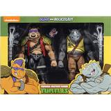 Action Figures NECA Teenage Mutant Ninja Turtles Rocksteady & Bebop Figure