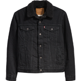 XL Men's Clothing Levi's Sherpa Trucker Jacket - Berk Black