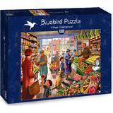 Classic Jigsaw Puzzles Bluebird Village Greengrocer 1000 Pieces