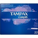 Tampons Tampax Compak Lite 22-pack