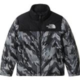 The North Face Youth 1996 Retro Nuptse Jacket - Meld Grey Mountain Camo Print
