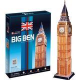 Jigsaw Puzzles CubicFun Big Ben London England 47 Pieces