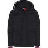 Men's Clothing Tommy Hilfiger Down Jacket - Black