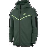 Nike tech fleece hoodie Sportswear Nike Tech Fleece Full-Zip Hoodie Men - Galactic Jade/Light Liquid Lime