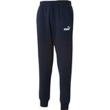 Puma joggers mens Pants Puma Essentials Knitted Fleece Sweatpants Men - Peacoat