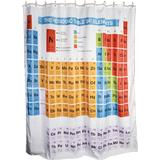 Shower Curtain Out of the blue Periodic Shower Curtain