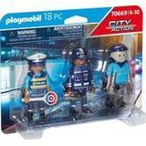 Action Figures Playmobil Police Figure Set 70669