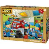 Classic Jigsaw Puzzles King Kiddy Construction 24 Pieces