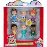 Action Figures Jazwares Cocomelon Family & Friends 6 Pack