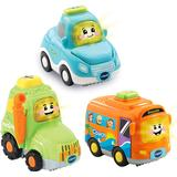 Tractors Vtech Toot Toot Drivers 3 Cars Pack Everyday Vehicles