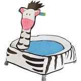 Trampolines Worlds Apart GetGo A-Zebra Toddler Trampoline
