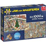 Classic Jigsaw Puzzles on sale Jumbo Jan van Haasteren Holiday Shopping 2x1000 Pieces