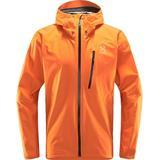 Jackets Men's Clothing Haglöfs L.I.M Jacket - Flame Orange
