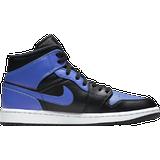 Nike Air Jordan 1 Mid - Black/White/Hyper Royal