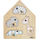 Knob Puzzles on sale Done By Deer Deer Friends Peg Puzzle