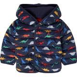 Children's Clothing Tom Joule Jessie Dinosaur Baby Puffer Jacket - Navy Dinos (209528)