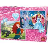 Classic Jigsaw Puzzles King Disney Princess 2 in 1 Puzzle