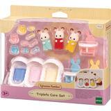 Dollhouse Accessories Sylvanian Families Triplets Care Set