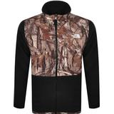 Men's Clothing The North Face Denali 2 Jacket - Tnf Black-Kelp Tan Forest Floor Print
