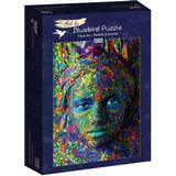 Bluebird Face Art Portrait of Woman 1000 Pieces