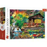 Classic Jigsaw Puzzles Trefl Cabin in the Woods