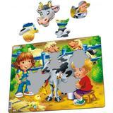 Larsen On The Farm Milking a Cow 18 Pieces