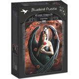 Classic Jigsaw Puzzles Bluebird Anne Stokes Angel Rose 1000 Pieces