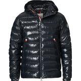 Moncler Blesle Down Hooded Jacket - Navy