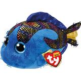 Soft Toys TY Beanie Boo's Aqua Fish with Glitter Eyes 24cm