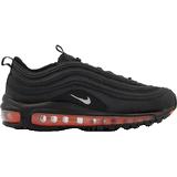 Nike air max 97 junior black Children's Shoes Nike Air Max 97 GS - Black/Metallic Silver/Total Orange
