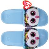 Children's Shoes TY Sequin Slides - Owen The Multicolor Owl